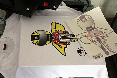 sablon kaos heat press