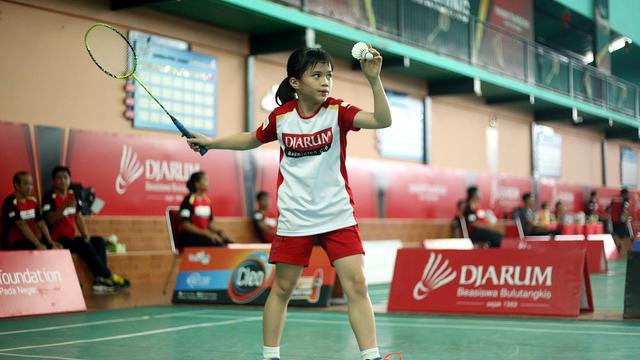 baju badminton anak