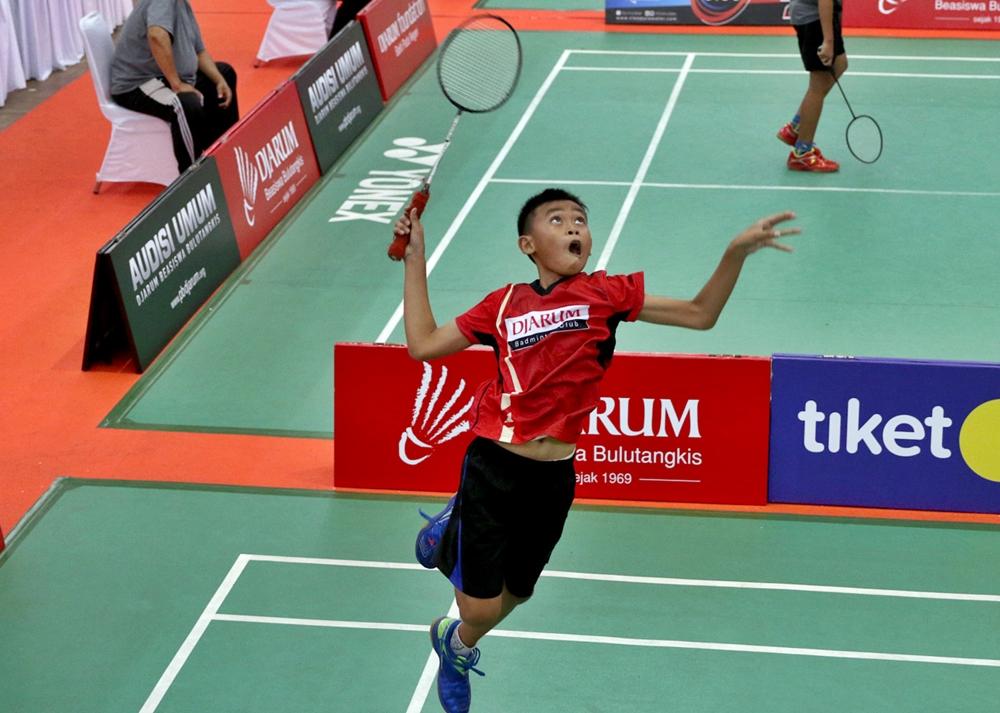 jersey badminton anak