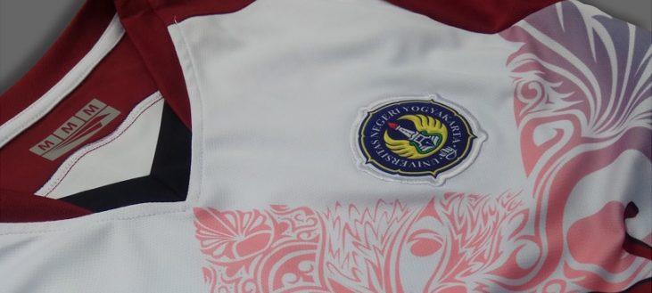 Logo Bordir di Full Print Jersey UNY