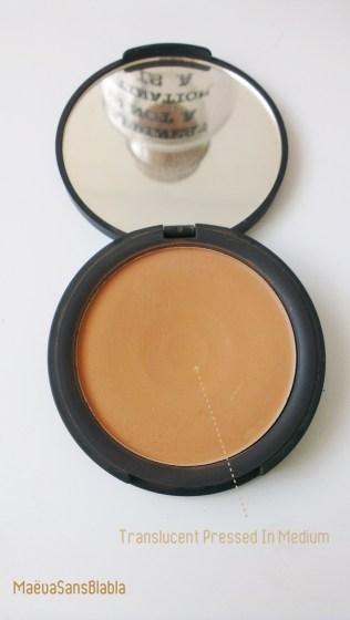 Pressed Powder Translucent Sleek Tan