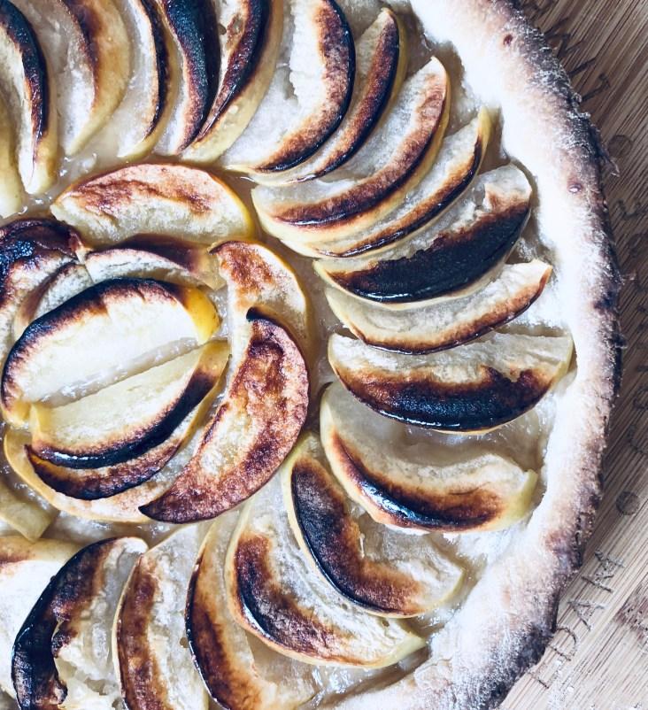 веганского яблочного пирога