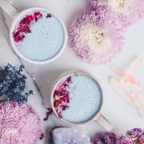 moon milk blue