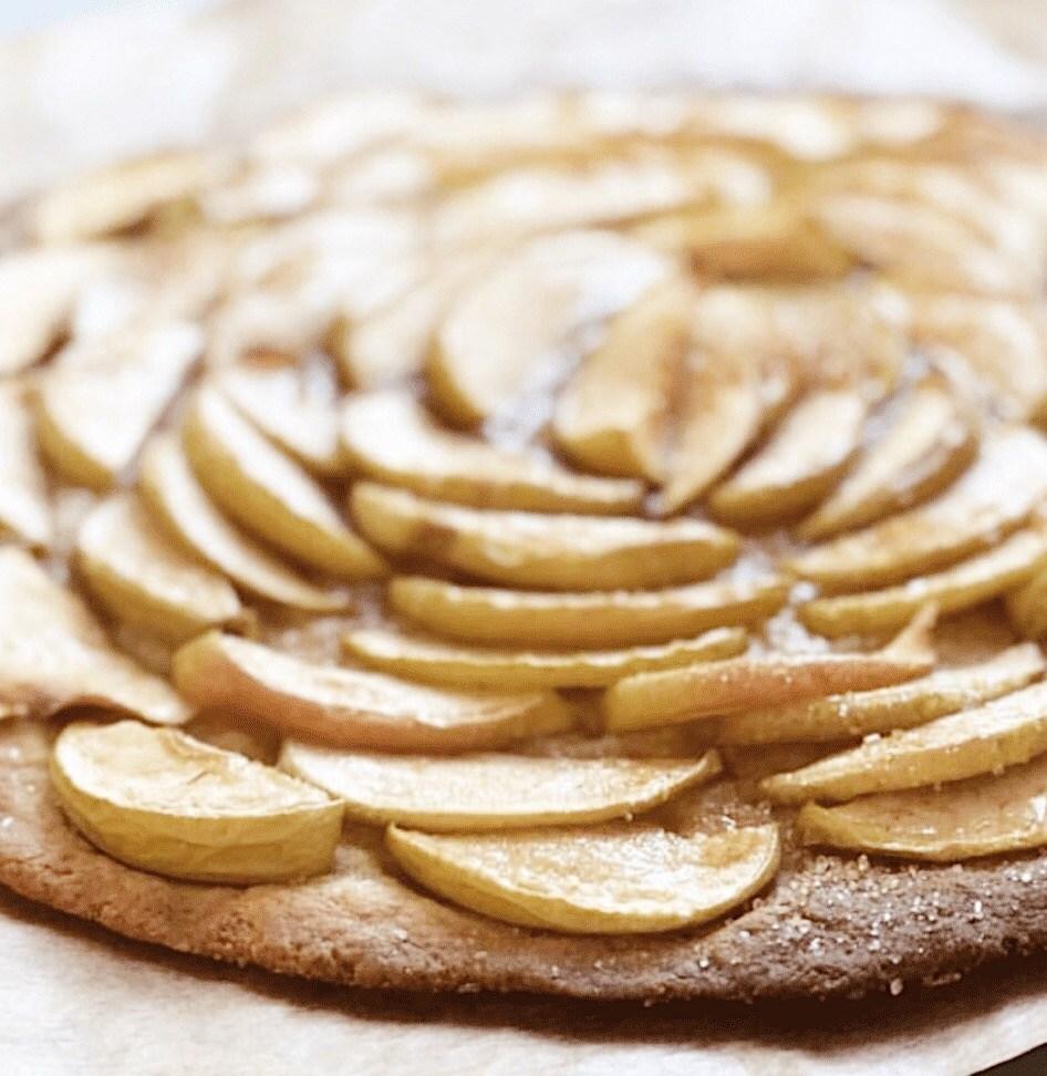 Веганский яблочный пирог рецепт