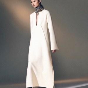 модные зимние платья 1