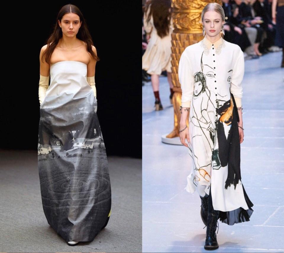 арт принт модный тренд осень зима 2020 2021