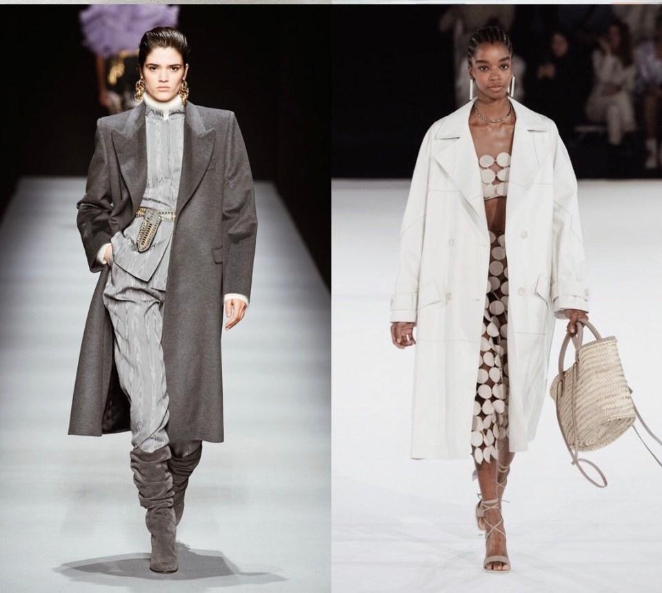 модные пальто оверсайз 2020