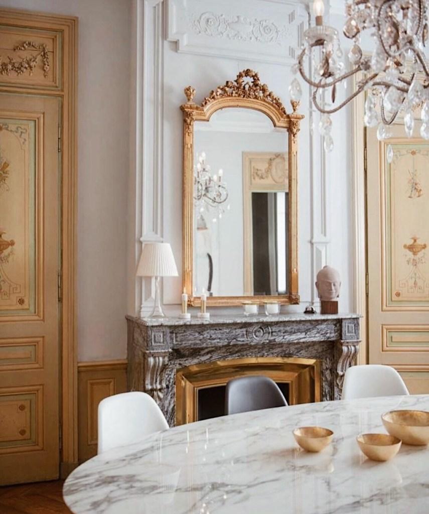 Зеркало в столовой