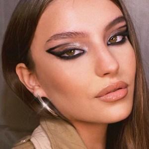 Как сделать макияж глаз с «негативным пространством»?