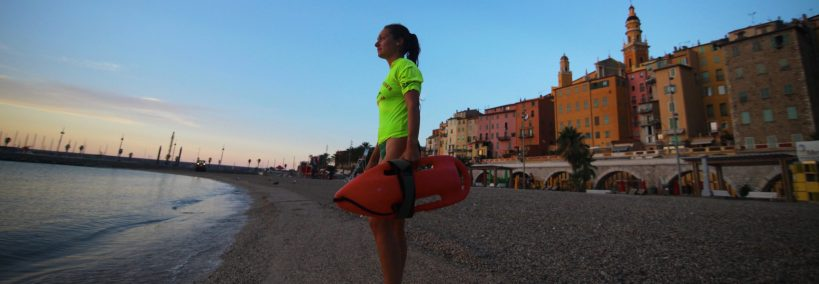 Sapeur-pompier volontaire nageur sauveteur