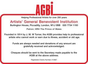 Notice for Artists Benevolent Fund by MAFA steward