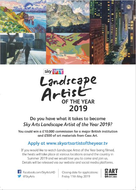 Sky Arts Landscape Artist Of The Year 2019