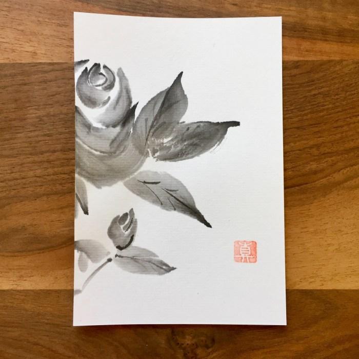 rose hagaki