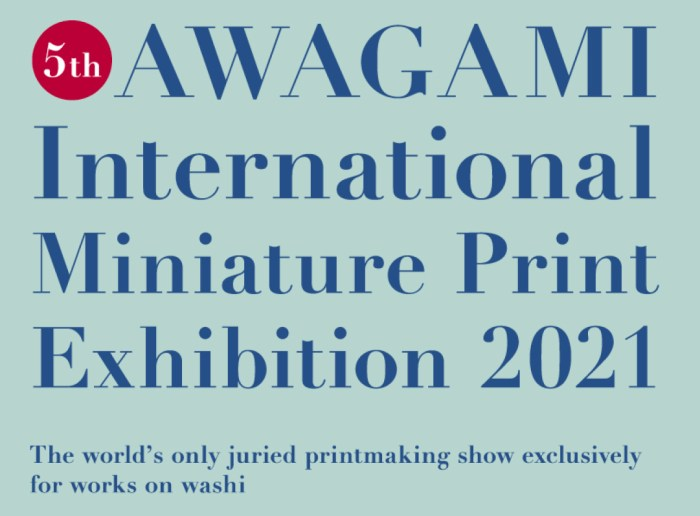 Awagami Mini Print