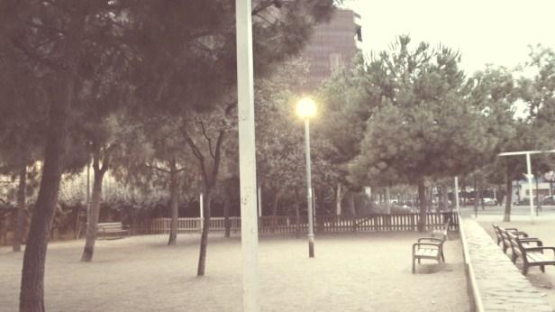parque solitario
