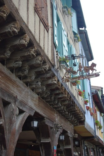 maison à colombages - maison du consul de Mirepoix