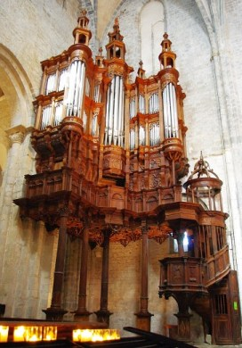 orgue de Saint Bertrand de COMMINGES