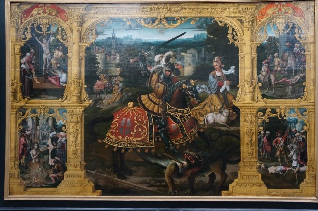 lancelot-blodeel-1496-1561-légende-de-saint-georges