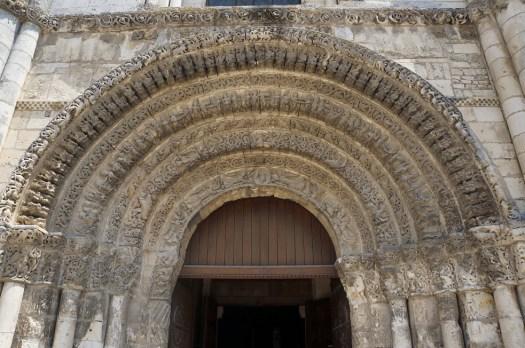 saintes abbaye aux dames -portail occidental