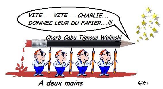 Charlie hebdo - la relève