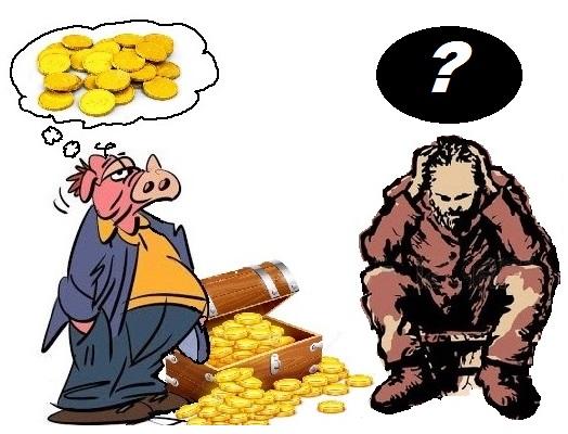 Monsieur rIchard et le pauvre homme