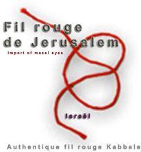 fil rouge de Jérusalem