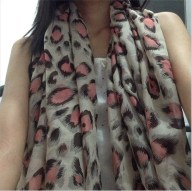 The Girly Animal Print Scarf (June 9, 2013)