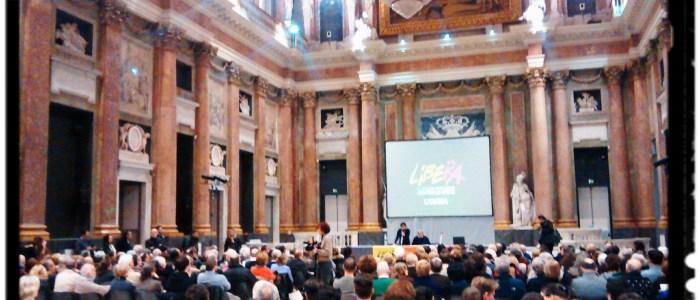 La cultura della legalità, Don Ciotti, venerdì 30 gennaio 2015, sala del maggior consiglio Genova