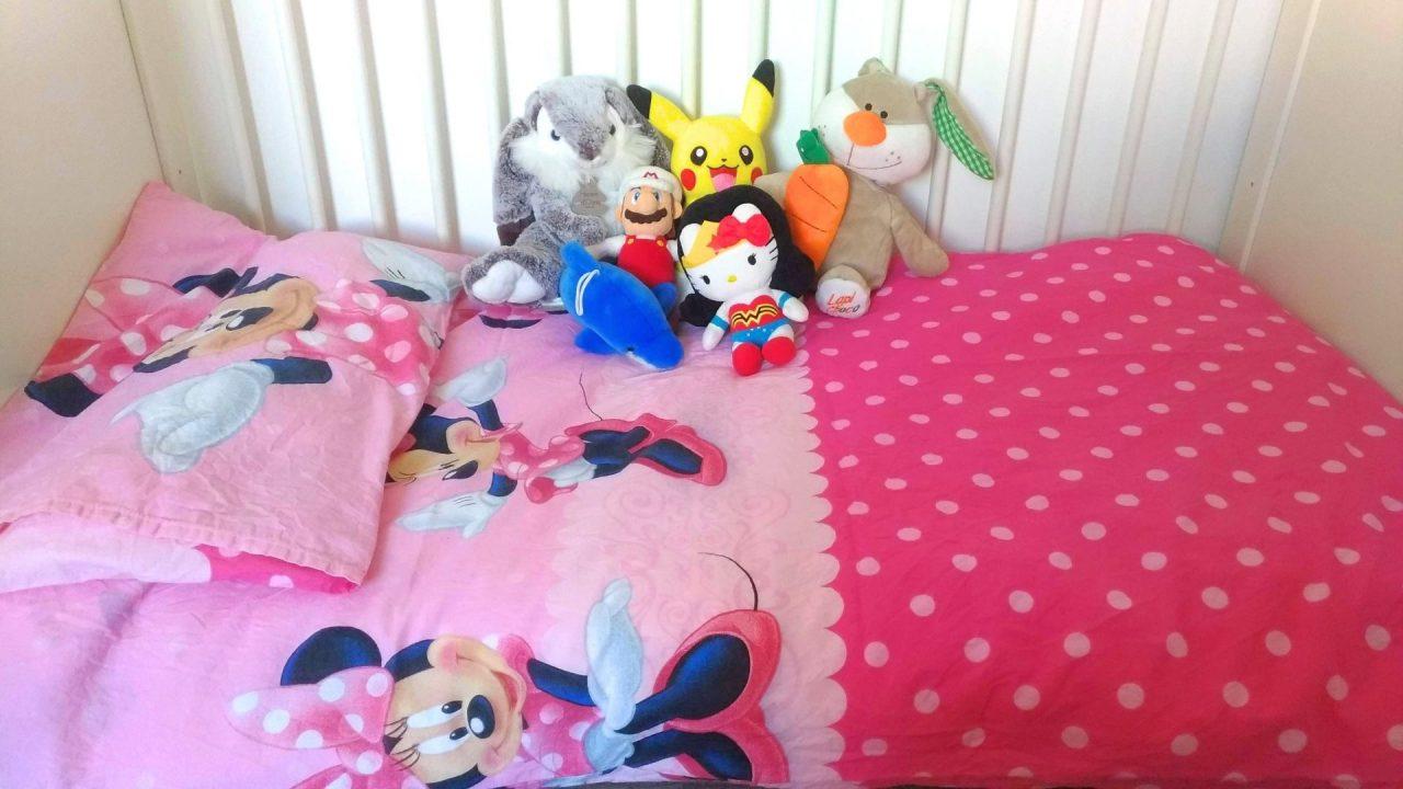 une couette pour lit de bebe