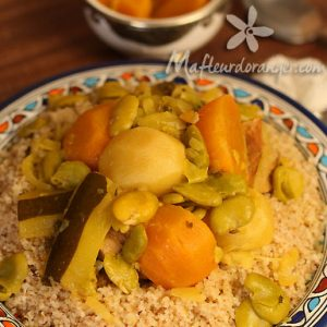 Rfissa au poulet : Recette de la cuisine marocaine ...