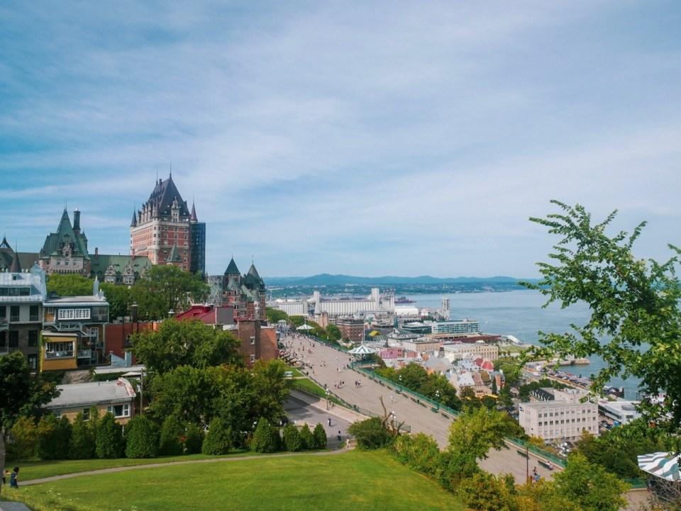 Québec city Roadtrip Québec