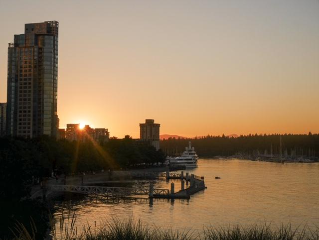 Vancouver Golden Hour