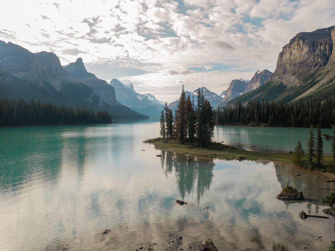 Spirit Island Banff National Park - Road trip deux semaines rocheuses