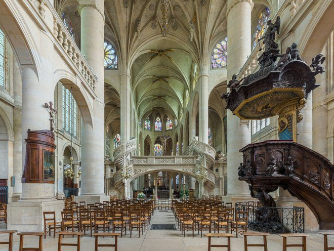 File source: http://commons.wikimedia.org/wiki/File:St-Etienne-du-Mont_Interior_2,_Paris,_France_-_Diliff.jpg