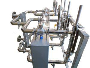 高磁力マグ・フィルター設備