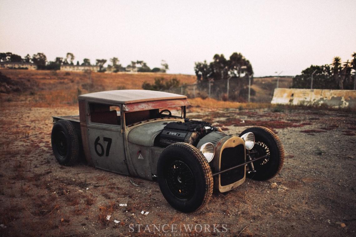 Хот-род своими руками - 1928 FORD MODEL A BMW-POWERED 14