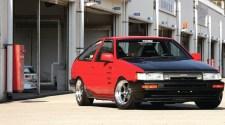"Подтяжка ""лица"" - Toyota Corolla - Toyota Corolla Levin AE86"