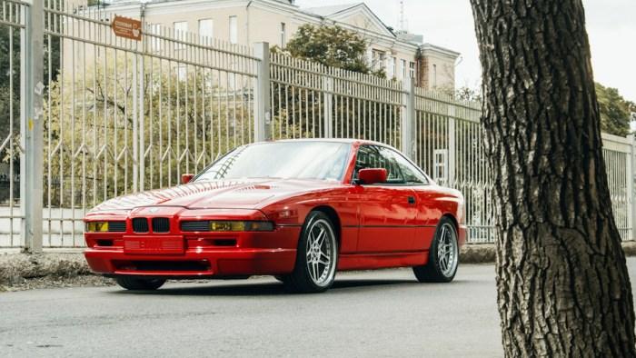 Культовая восьмерка - BMW 8