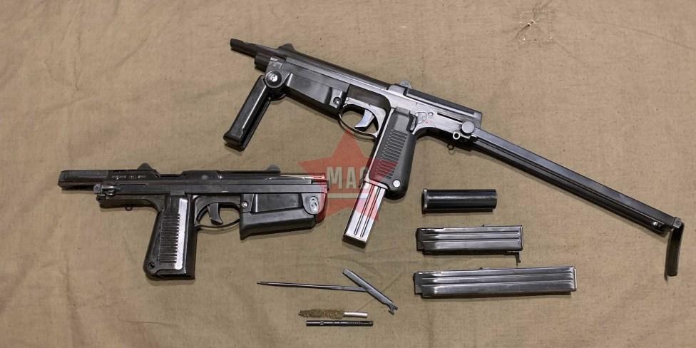 Охолощенный пистолет-пулемет PM-63 Samopal WZ.63 RAK