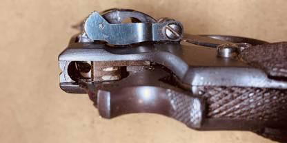 Охолощенный револьвер Наган 1920 года №10693