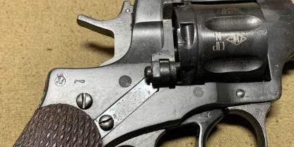 Охолощенный револьвер Наган 1926 года №6613