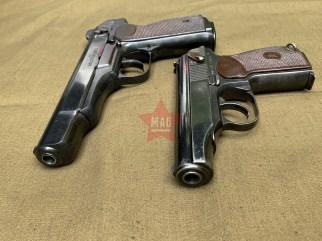 Охолощенные пистолеты АПС и ПМ 1953 года