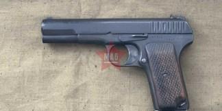 Охолощенный пистолет ТТ-30 1935 года №28615