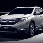Honda to unveil CR-V Hybrid Prototype at Frankfurt Motor Show