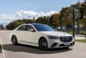 Mercedes-Benz S-Klasse Presse Fahrvorstellung. Immendingen 2020Mercedes-Benz S-Class press test drive. Immendingen 2020