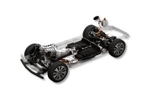 縦置きガソリンエンジンとプラグイン・ハイブリッド搭載のラージ・アーキテクチャー