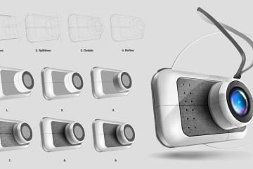 工業設計手繪基礎:四步驟畫出完美產品渲染圖