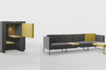 沙發成為辦公室?英設計多功能沙發:看劇睡覺、高效工作都通用