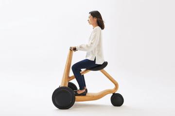 最溫暖的三輪:日設計師小林幹也攜手汽車、家具廠打造木製電動車 ILY-Ai