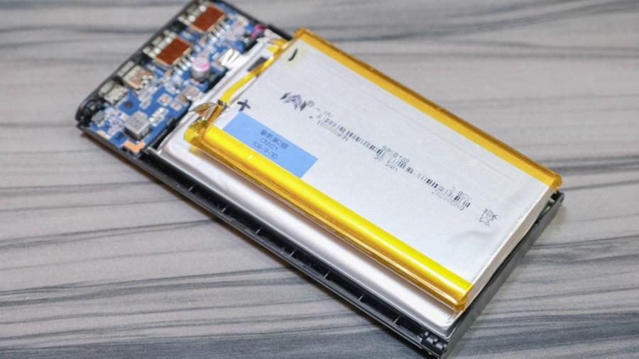inaday's電池與他牌電池尺寸比較